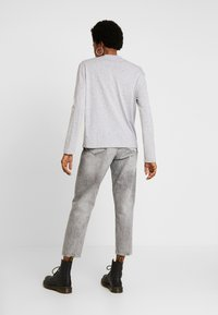 G-Star - LOOSE FUNNEL - Long sleeved top - grey heather - 2