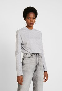 G-Star - LOOSE FUNNEL - Long sleeved top - grey heather - 0