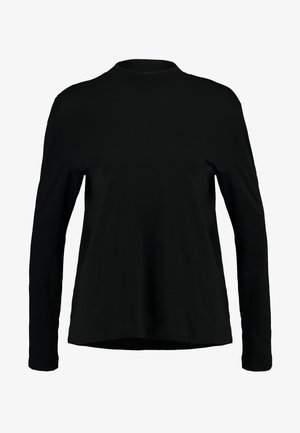 LOOSE FUNNEL - Long sleeved top - black