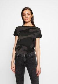 G-Star - GYRE - Camiseta estampada - raven - 0