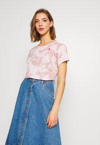G-Star - GYRE - T-shirt print - bleach pink - 0