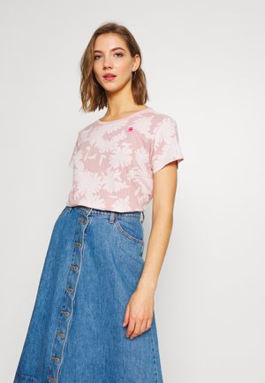 GYRE - T-shirt print - bleach pink