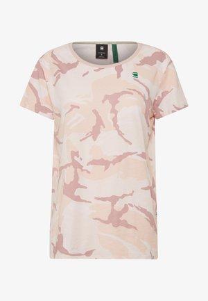 GYRE - T-shirt imprimé - bleach pink/pink orchid