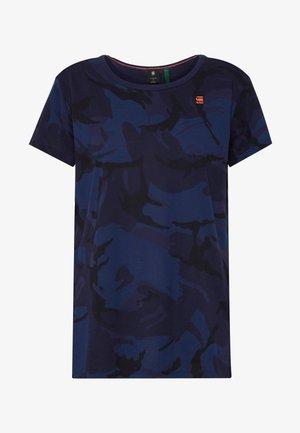 GYRE - Print T-shirt - servant blue/sartho blue