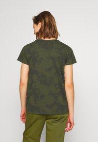 G-Star - GYRE - Print T-shirt - algae/ combat - 2