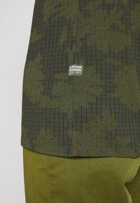 G-Star - GYRE - Print T-shirt - algae/ combat - 5