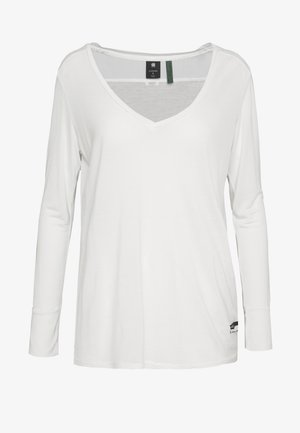 GYRE UTILITY V-NECK LONG SLEEVE T-SHIRT - T-shirt à manches longues - milk