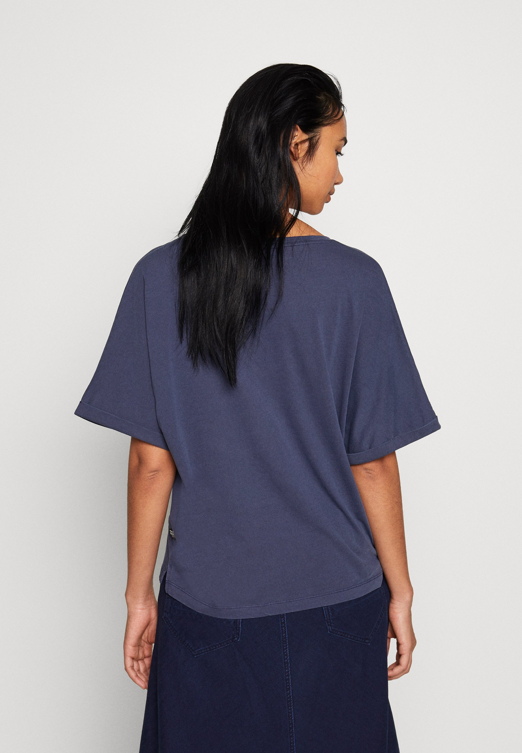 G-Star JOOSA V-NECK T-SHIRT - T-shirt z nadrukiem - servant blue