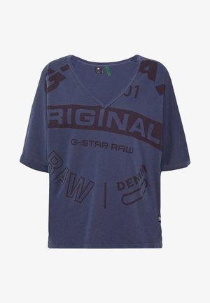 JOOSA CIRCLE - Print T-shirt - servant blue