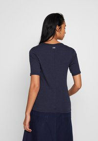 G-Star - SILBER SLIM - Print T-shirt - servant blue - 2