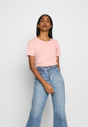 MYSID RECYCLE DYE SLIM - T-shirts basic - pink orchid