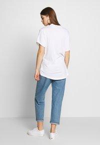 G-Star - LASH FEM LOOSE WMN - T-shirts - white - 2