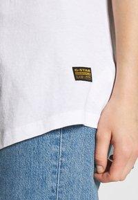 G-Star - LASH FEM LOOSE WMN - T-shirts - white - 4