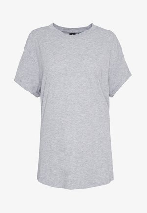 LASH FEM LOOSE R T WMN - Camiseta básica - grey