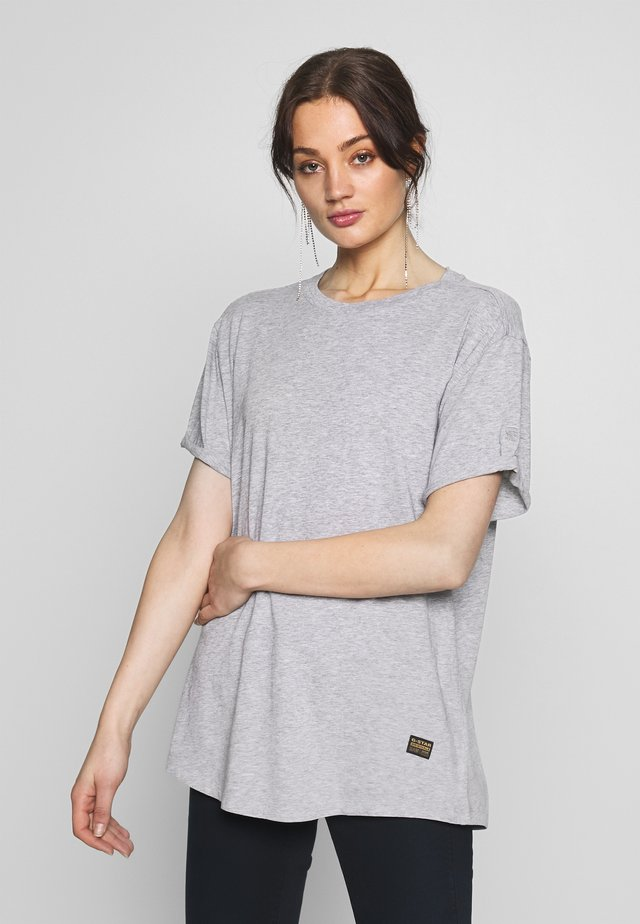 LASH FEM LOOSE - T-shirt - bas - grey