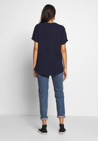 G-Star - LASH LOOSE  - T-shirt basic - sartho blue - 2