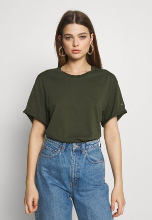 LASH FEM LOOSE - Basic T-shirt - algae