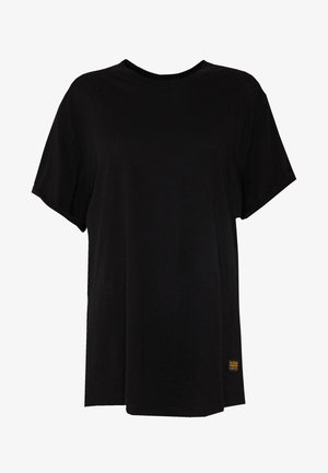 LASH LOOSE  - T-shirt - bas - black