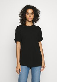 G-Star - LASH FEM LOOSE R T WMN - T-shirt basique - black - 0