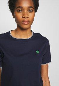 G-Star - GYRE RINGER  - T-shirt print - sartho blue - 3