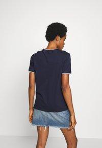 G-Star - GYRE RINGER  - T-shirt print - sartho blue - 2