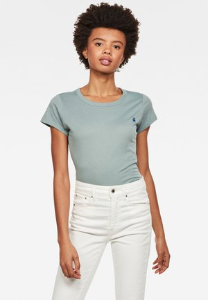 EYBEN SLIM - T-shirt basique - dusty green