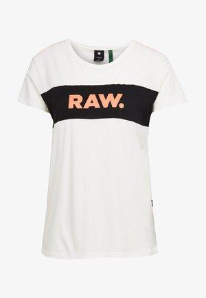 GYRE CUT&SEW - Print T-shirt - beige