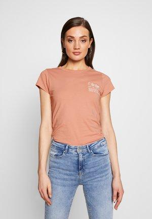 SMALL LOGO SLIM  - Basic T-shirt - mauve 4398