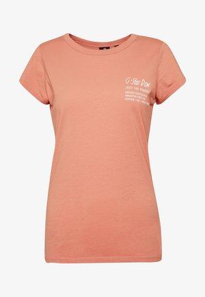 SMALL LOGO SLIM  - T-shirt basic - mauve 4398