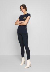 G-Star - SMALL LOGO SLIM  - T-shirt basic - sartho blue - 1