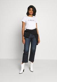 G-Star - BIG LOGO STRAIGHT  - Print T-shirt - white - 1