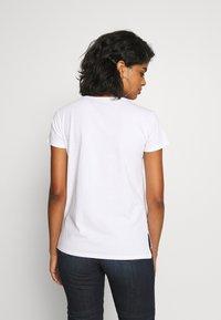 G-Star - BIG LOGO STRAIGHT  - Print T-shirt - white - 2