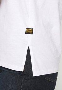 G-Star - BIG LOGO STRAIGHT  - Print T-shirt - white - 5