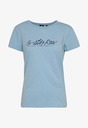 BIG LOGO STRAIGHT  - T-Shirt print - siali bue
