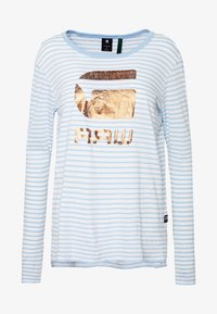G-Star - GRAPHIC 21 - Longsleeve - siali blue/white - 3