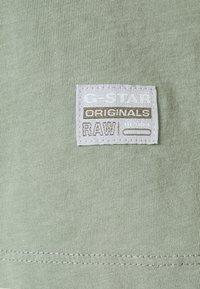 G-Star - CORE OVVELA - T-shirts med print - light green - 2