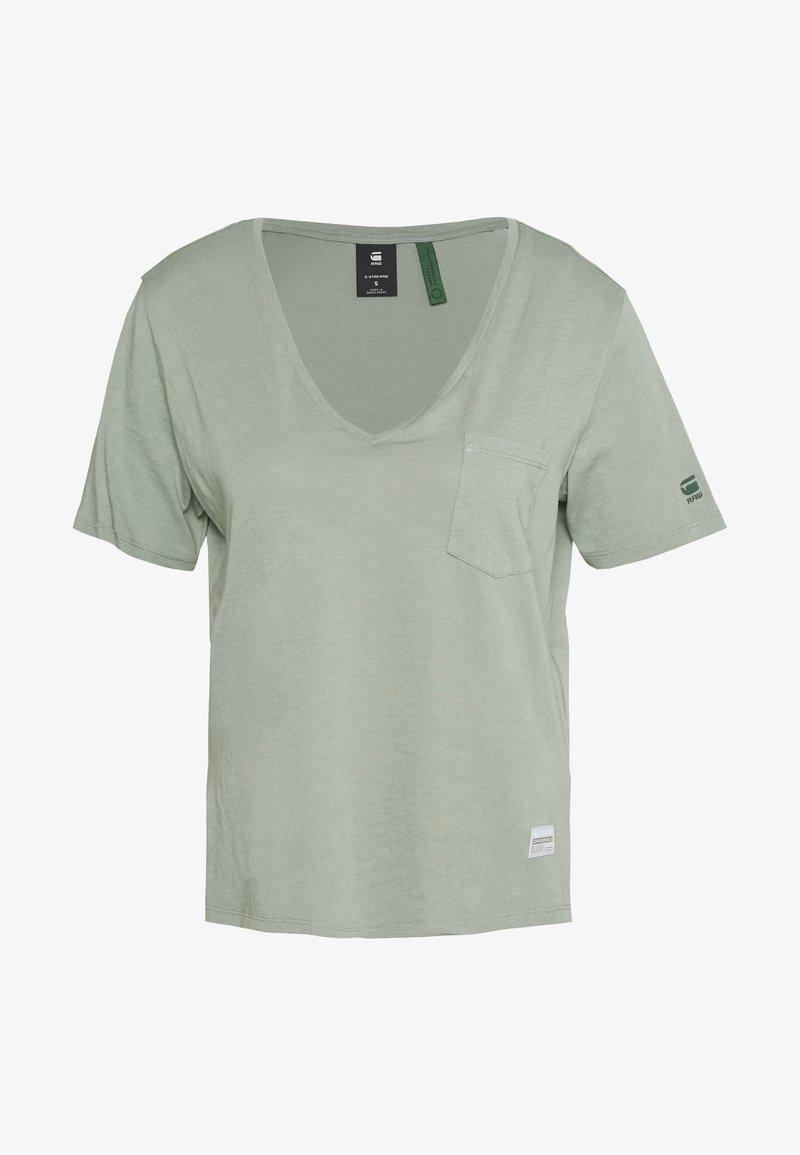 G-Star - CORE OVVELA - T-shirts med print - light green