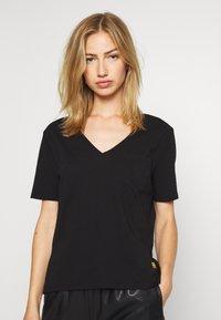 G-Star - CORE OVVELA - Print T-shirt - black - 0
