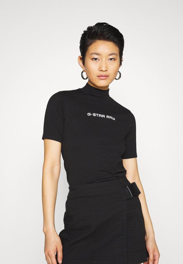 FUNNEL - Print T-shirt - black