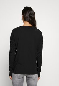 G-Star - GRAPHIC - Long sleeved top - black - 2