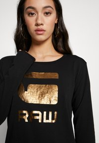 G-Star - GRAPHIC - Long sleeved top - black - 4