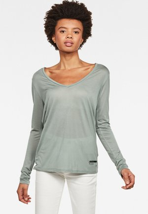 GYRE UTILITY - T-shirt à manches longues - dusty green