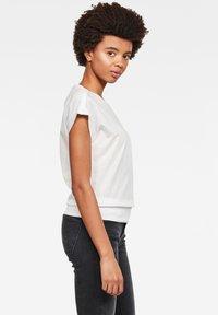 G-Star - NOXER BOAT - Print T-shirt - white - 2