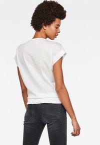G-Star - NOXER BOAT - Print T-shirt - white - 1