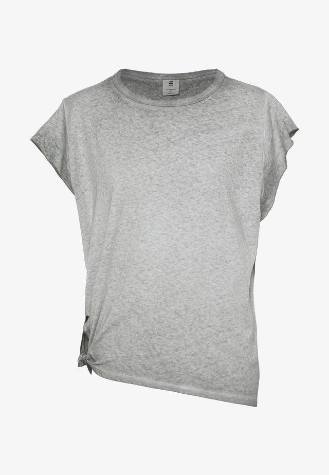 GYRE KNOT CAP - Camiseta básica - grey