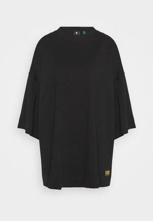 GLASY XXL LOOSE WMN - T-shirt basic - dk black