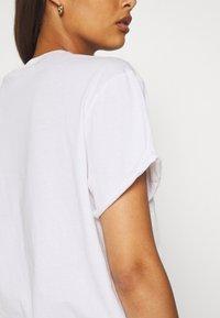 G-Star - ORIG CIRCLE LASH FEM LOOSE R T WMN S\S - Print T-shirt - white - 5
