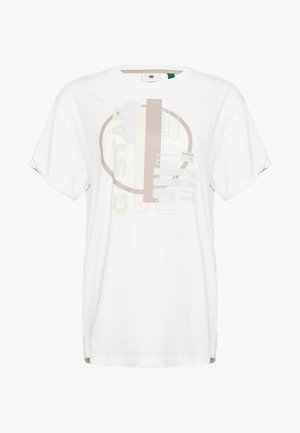 ORIG CIRCLE LASH FEM LOOSE R T WMN S\S - Print T-shirt - white