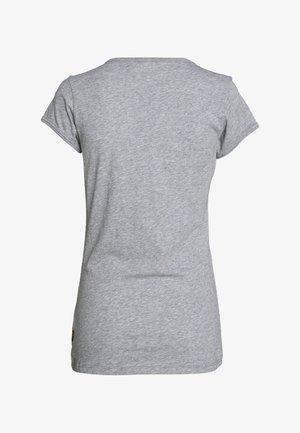 CIRCLE GR EYBEN RINGER SLIM - T-shirt basic - grey