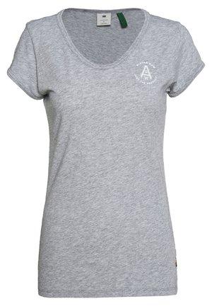 CIRCLE GR EYBEN RINGER SLIM - T-shirts - grey
